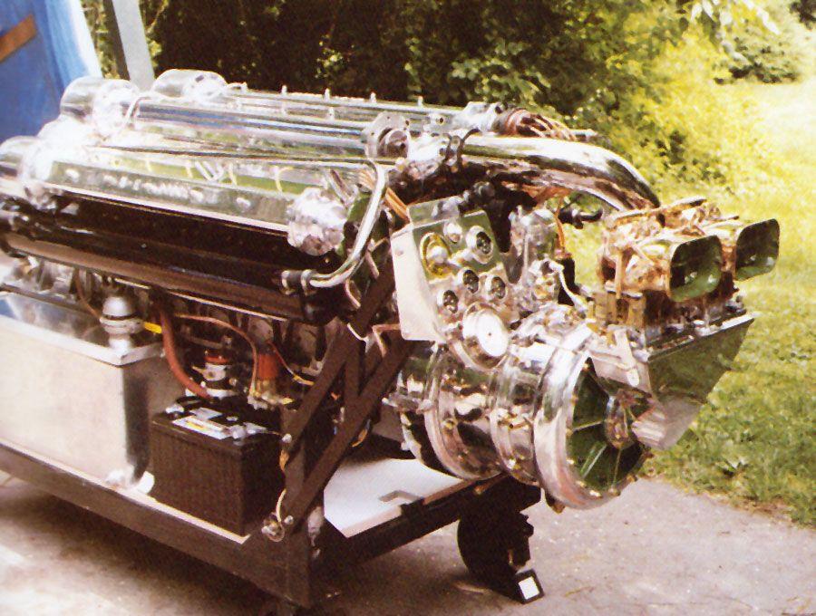 rebuilding boat engine cover