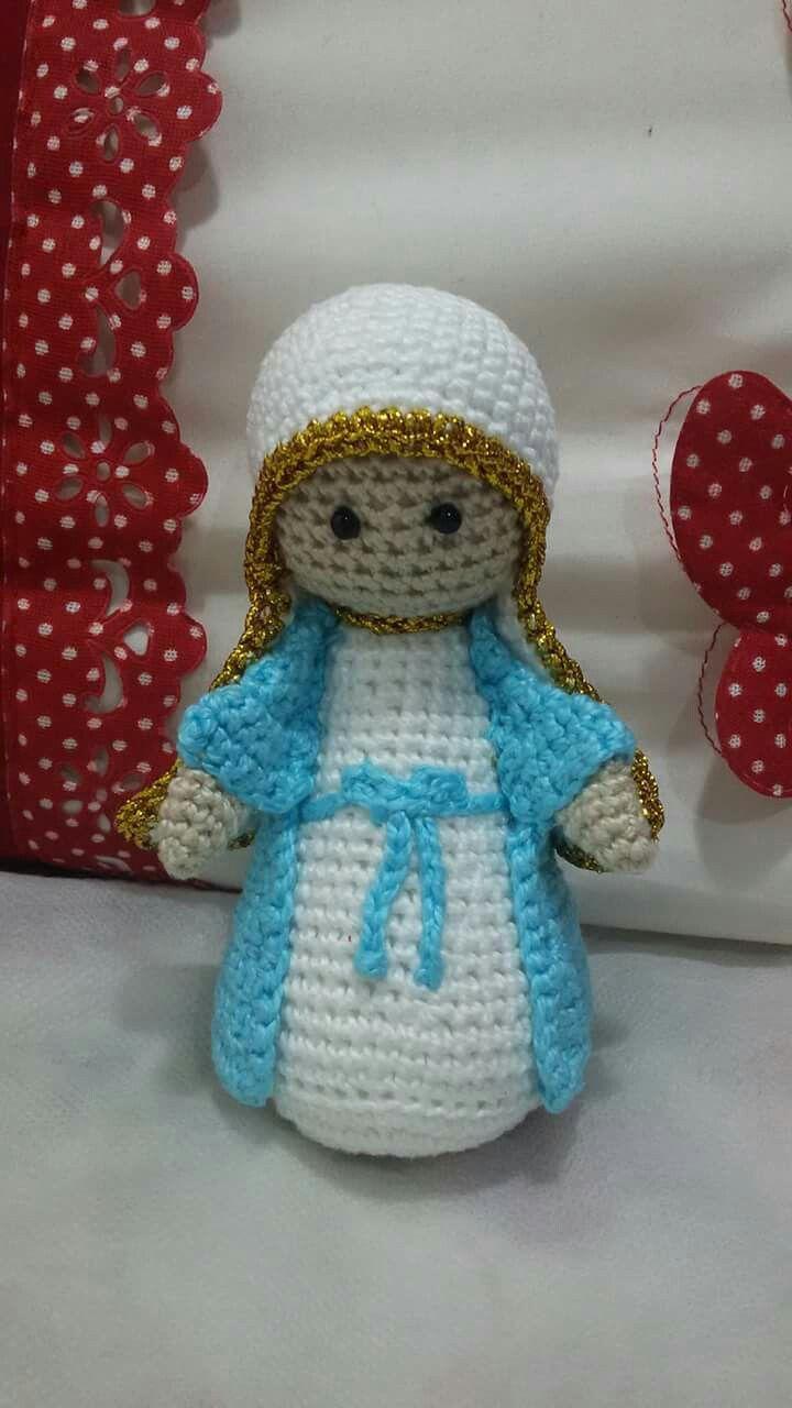 Virgen Maria De Todo Un Poco Pinterest Amigurumi