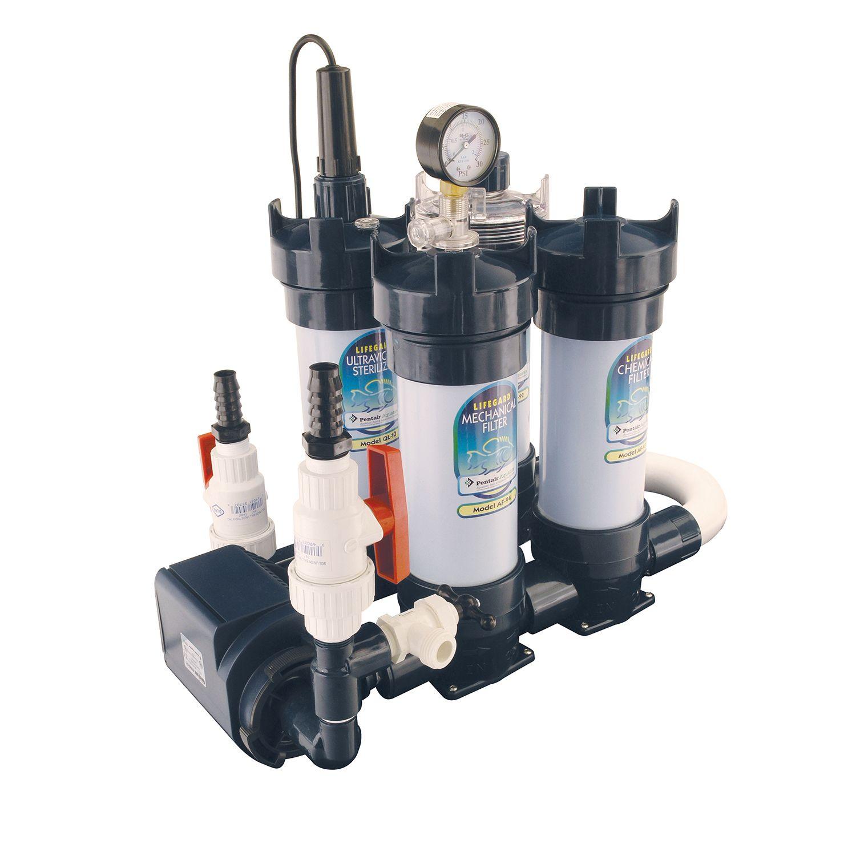 Lifegard Aquatics PreAssembled System Aquariums for