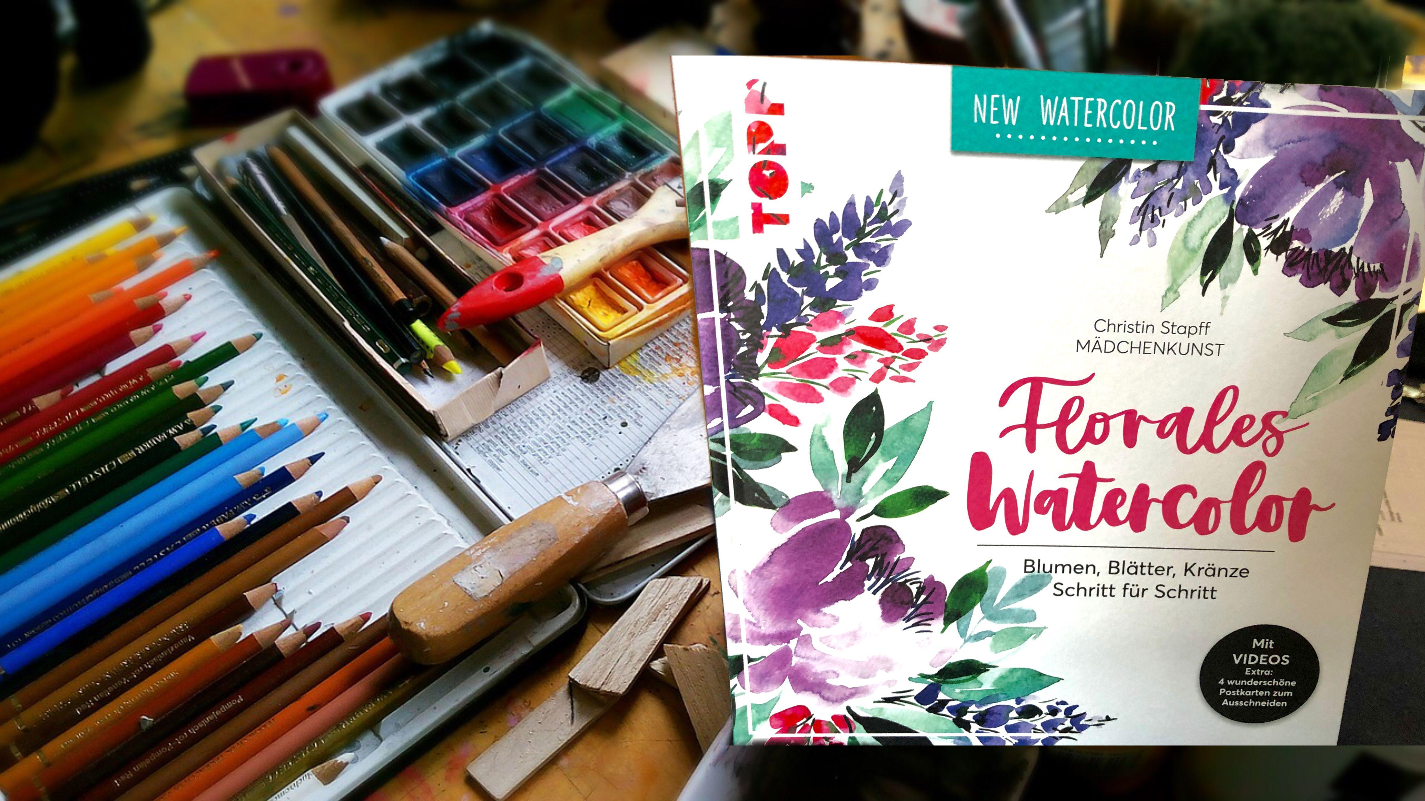 Florales Watercolor Von Christin Stapff Ein Feines Buch Fur