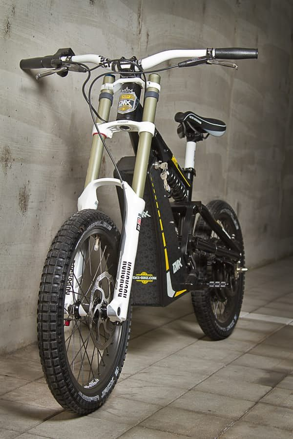 The Garage Built Emx Electric Motocross Soul In A Mountain