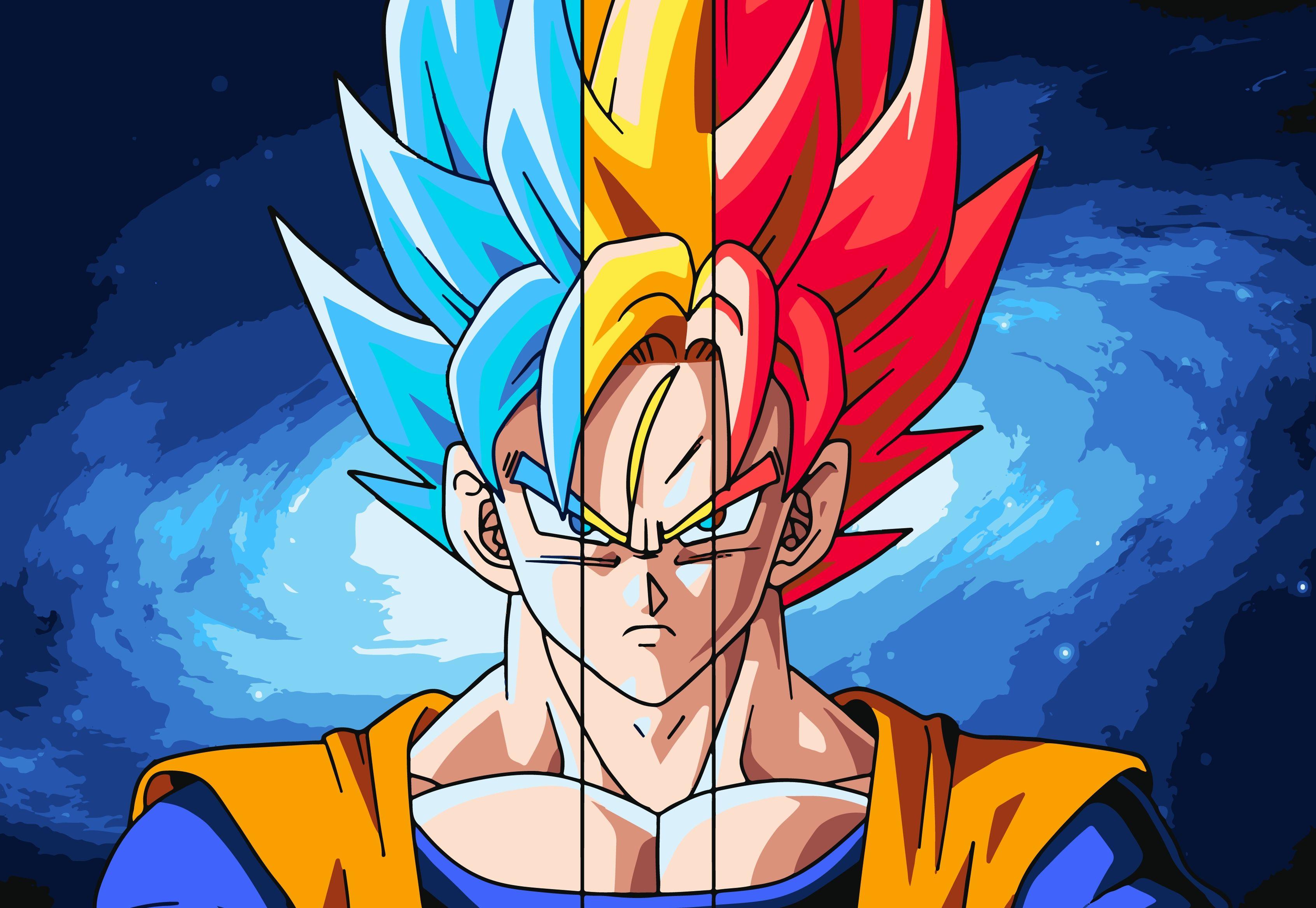 10 Latest Super Saiyan Goku Hd FULL HD 1920×1080 For PC