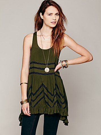 b4496bf1282c Free People Voile and Lace Trapeze Slip