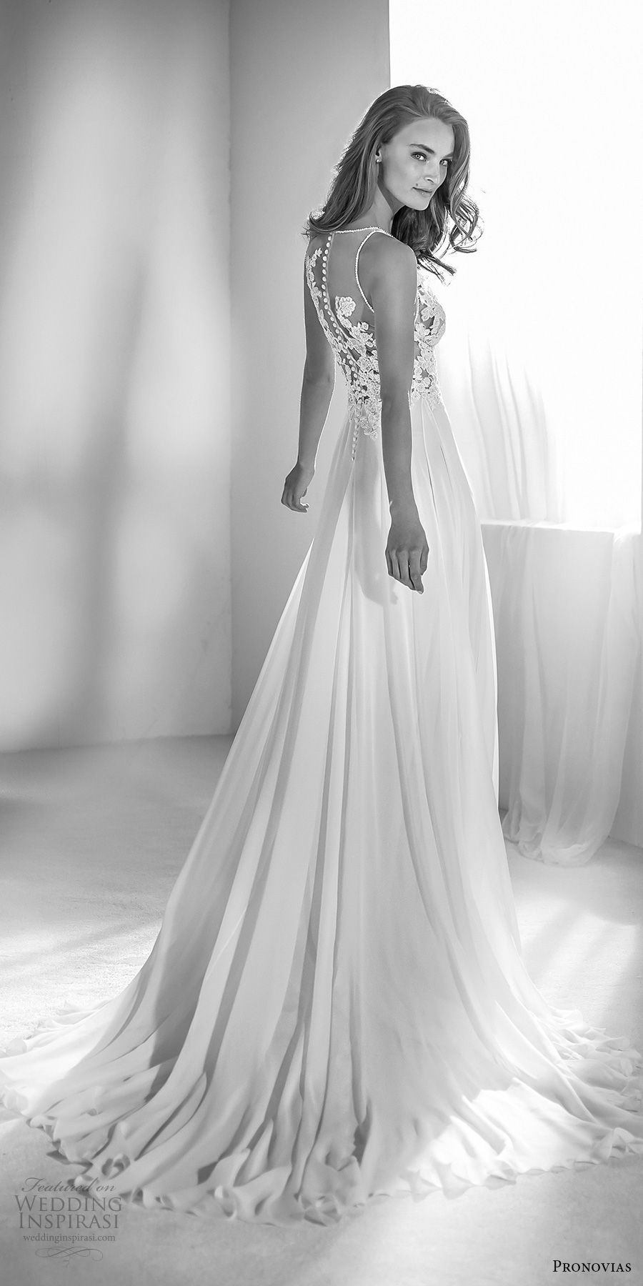 Atelier Pronovias 2018 Brautkleider | Pinterest | Brautkleid ...
