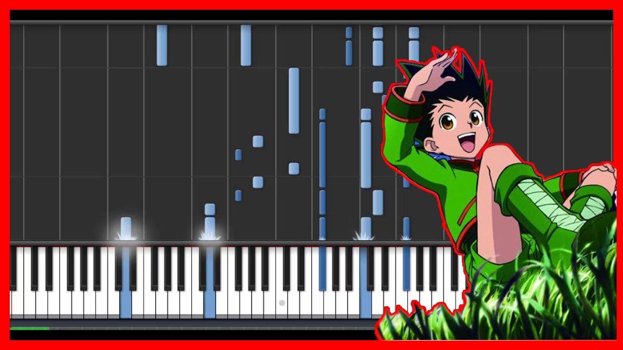 Hunter X Hunter 2011 Departure Anime Cover Easy Piano Tutorial Syn Piano Tutorial Hunter X Hunter Anime