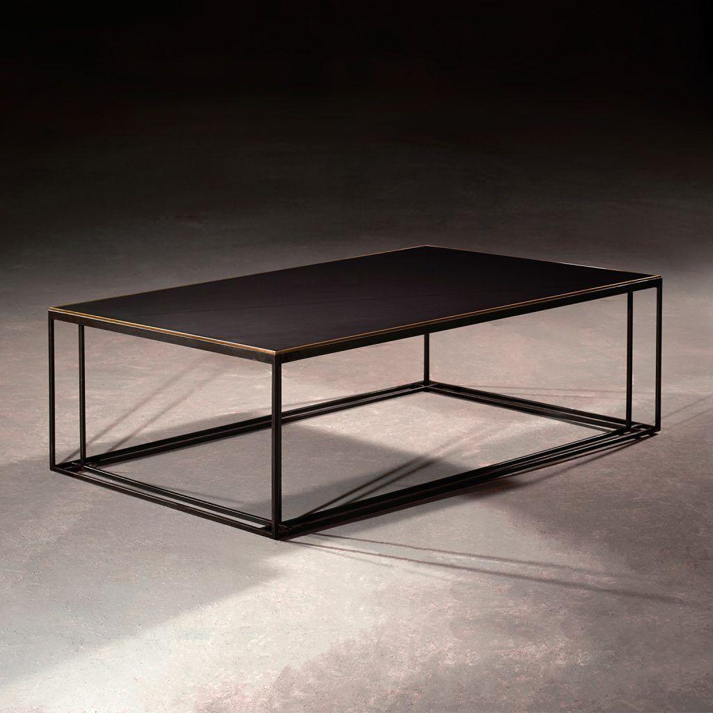 Slate Binate Coffee Table Table Metal Working Metal Furniture [ 1024 x 1024 Pixel ]