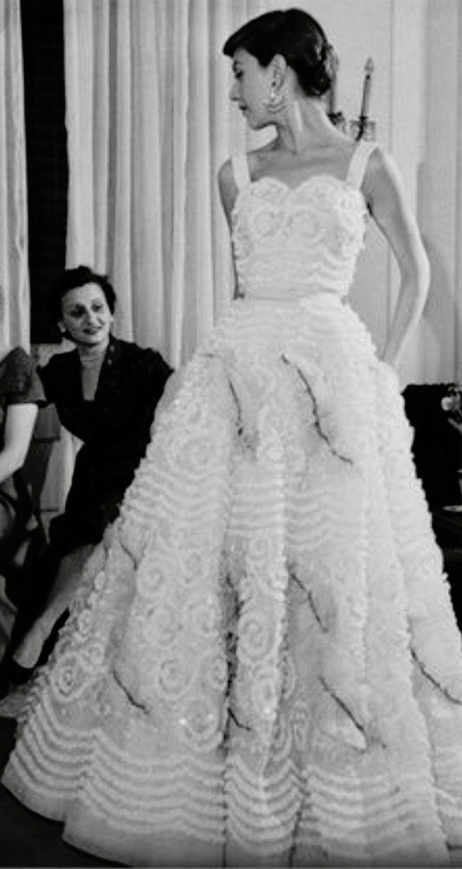 5c13a3f87a0e Audrey Hepburn-Dress  Sorelle Fontana-Rome-Italy