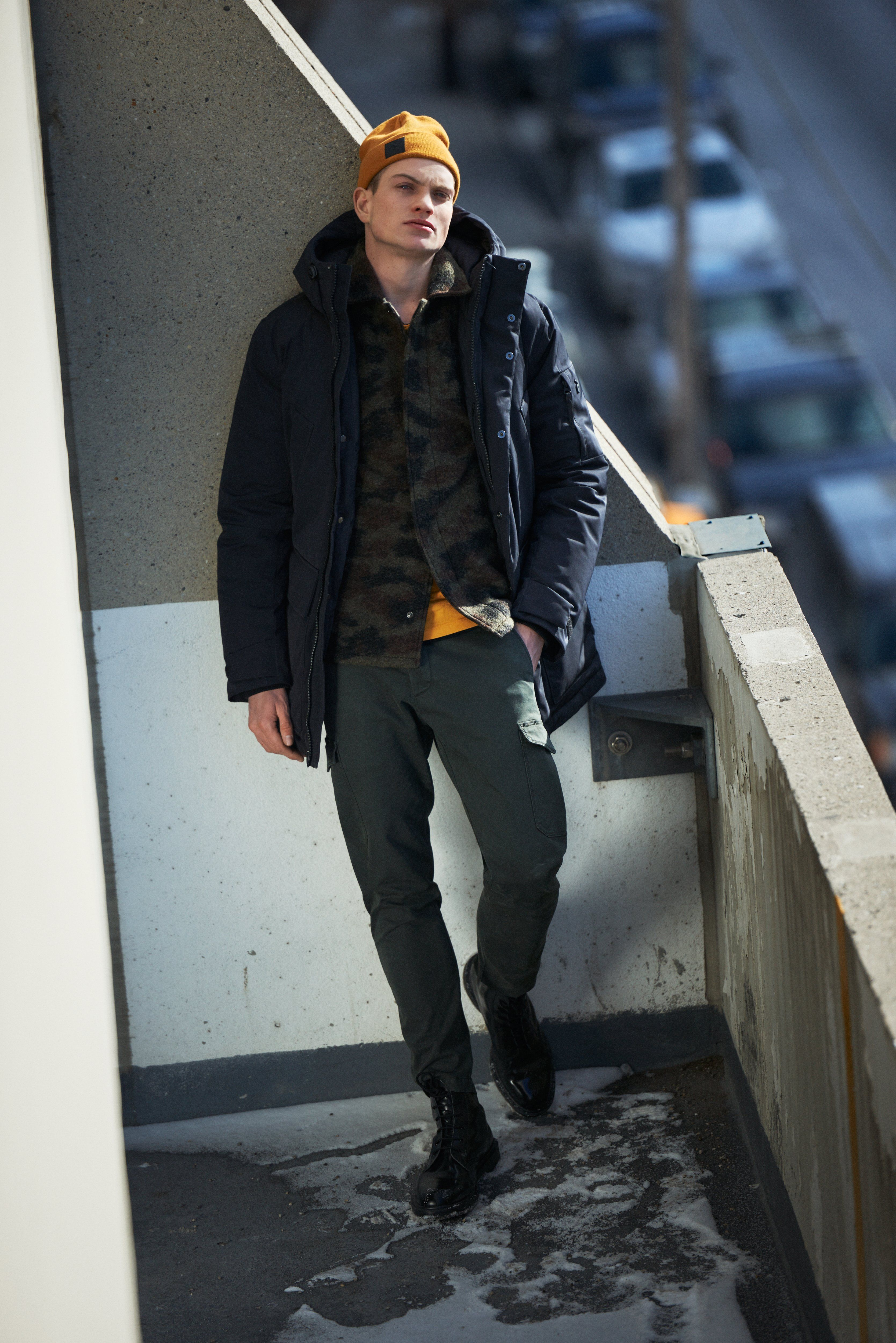 ab1a1cae4276c Perfect combination of Wool Camo Shirt & Unit Jacket. #peakperformance  #unitjacket #woolcamo #hat #urban