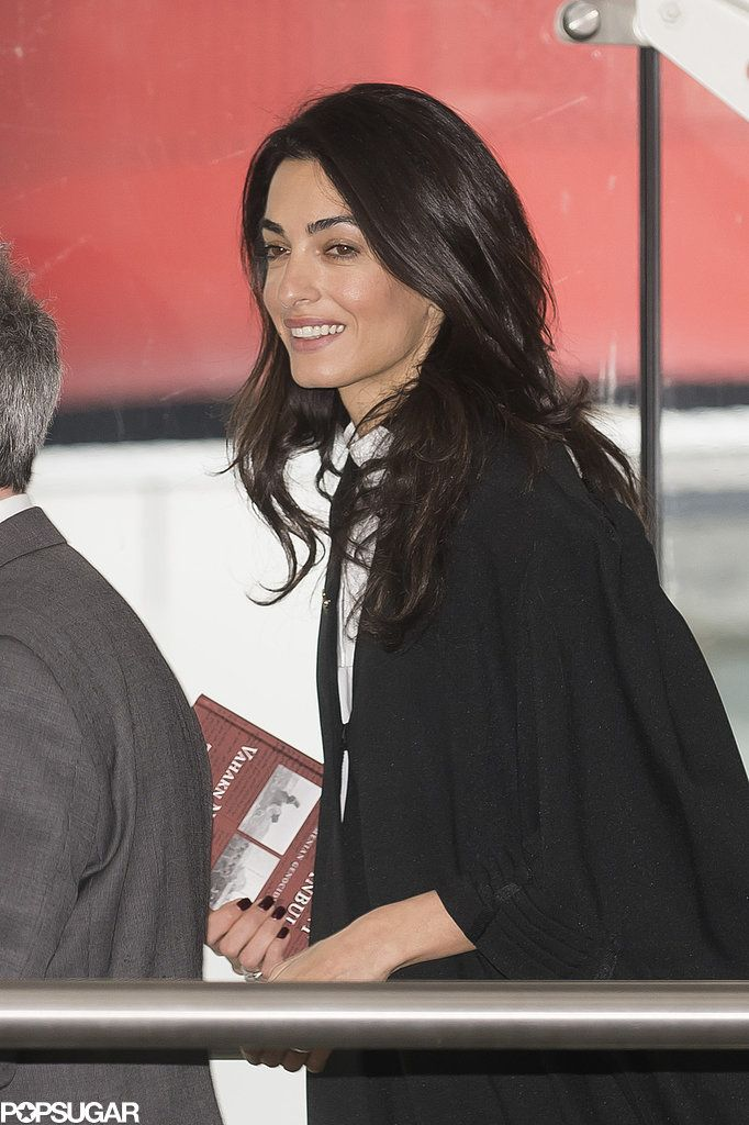 Amal Clooney Trades The Red Carpet For Court Amal Clooney Style Women Lawyer