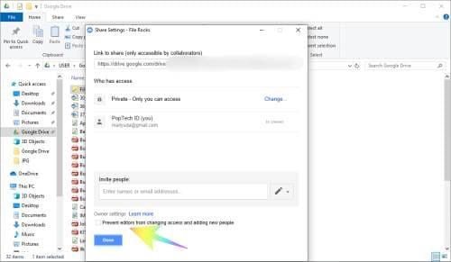 Cara Berbagi Link Google Drive Bagaimana Tentang Keamanan Jika Melakukan Itu Google Drive Drive Google