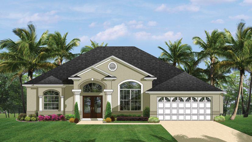 Florida style house floor plans