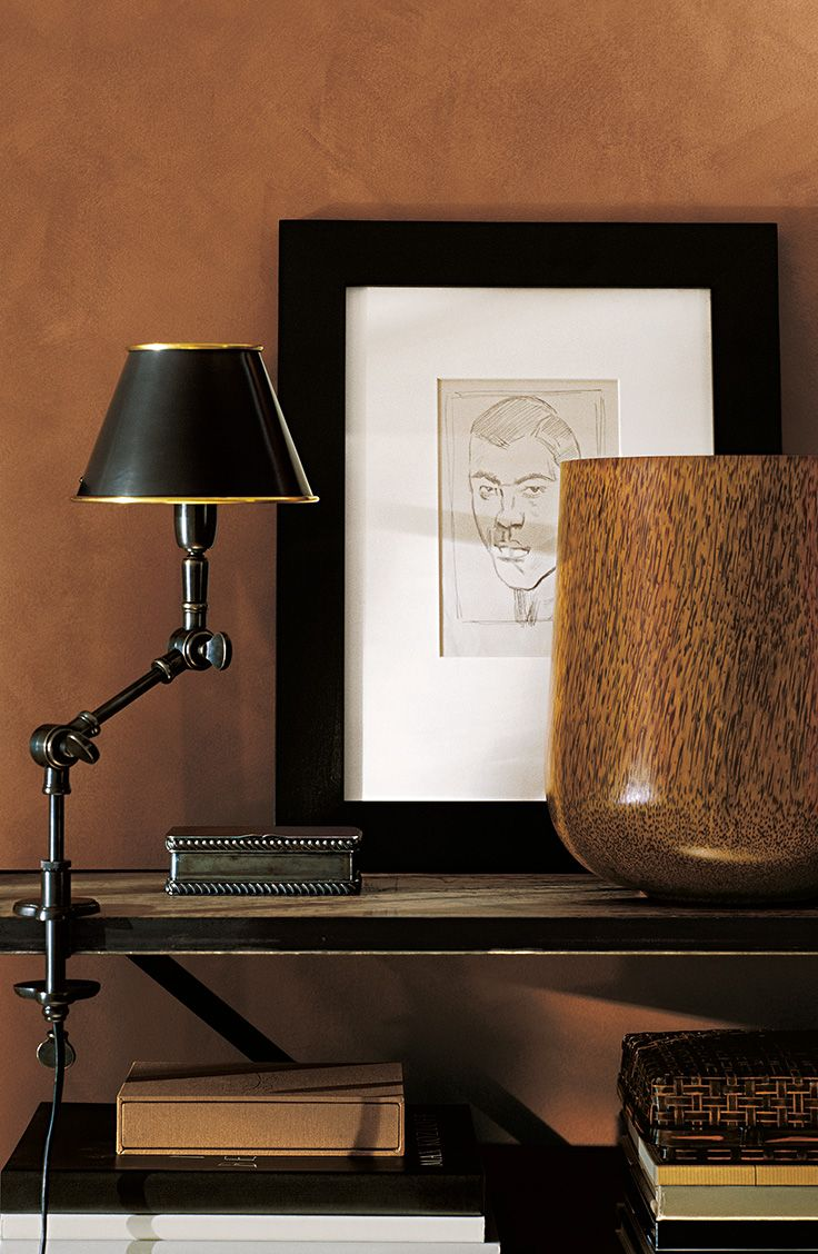 Bring A Touch Of Artistry To Your Walls With The Suede Specialty Finish From Ralph Lauren Paint Color Pictured Clay Red