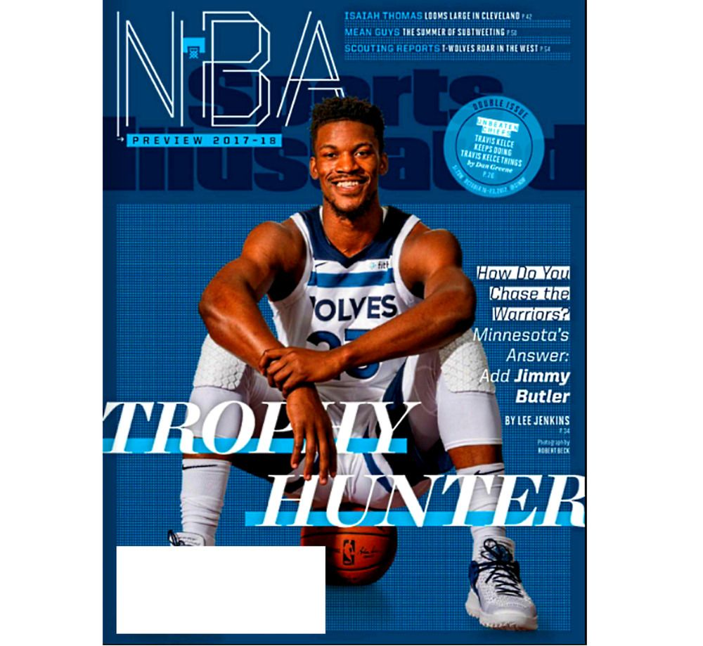 Sports Illustrated October 1623, 2017 JIMMY BUTLER