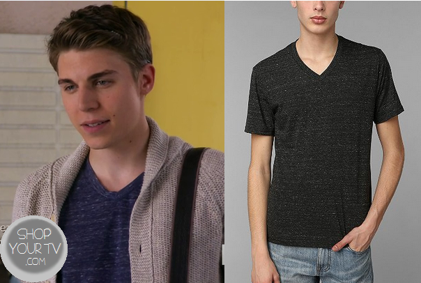 Awkward: Season 3 Episode 16 Colin's Navy V Neck | V neck ...