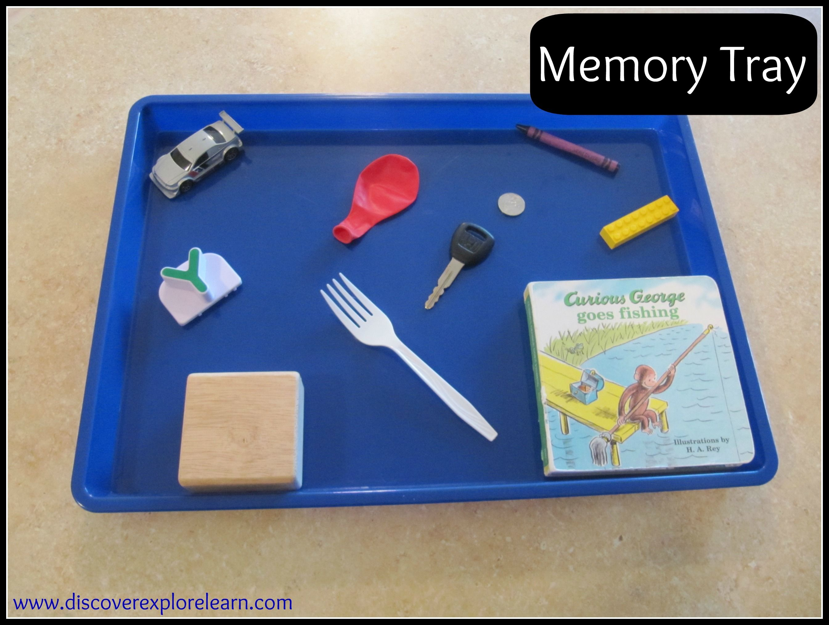 Memory Tray Would Be Easily To Create With Lark Kit