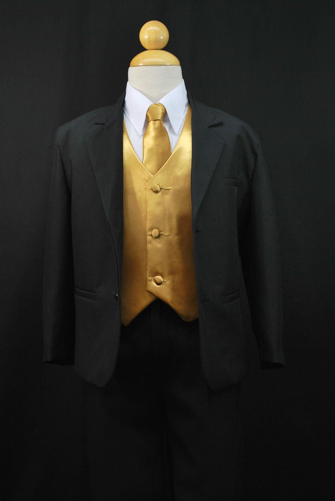 Black and Gold wedding theme | Wedding suits, Gold wedding and Wedding