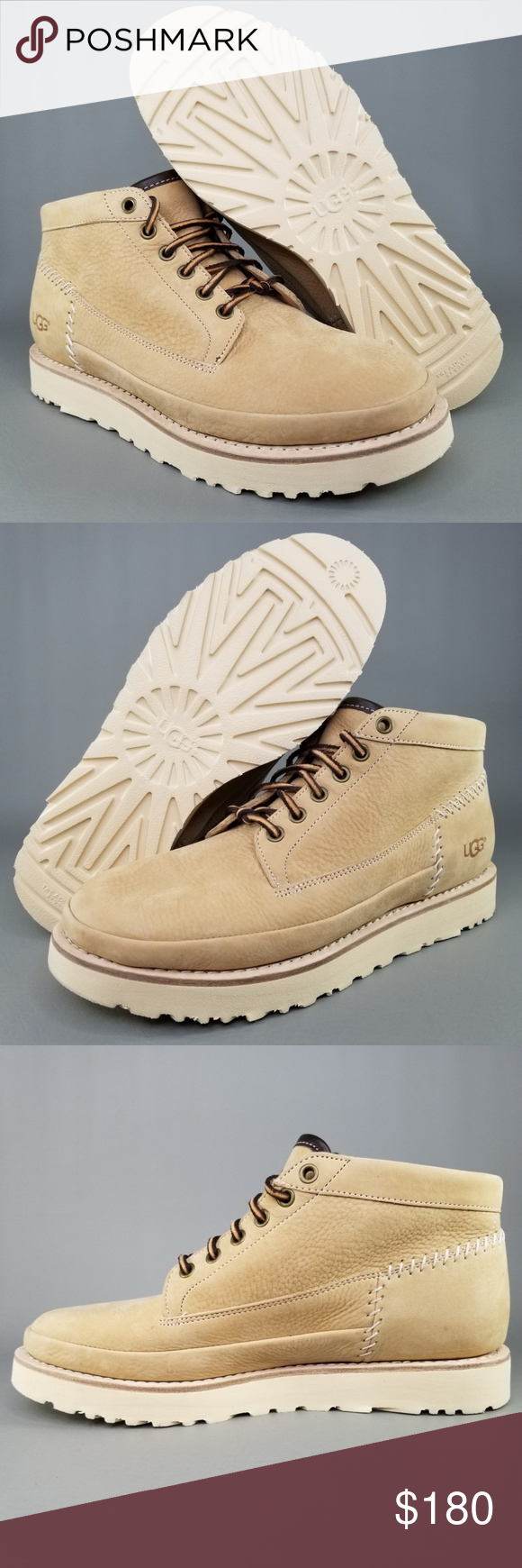 f1941b855d2 UGG Australia Men's Campfire Trail Leather Boots UGG Australia Men's ...