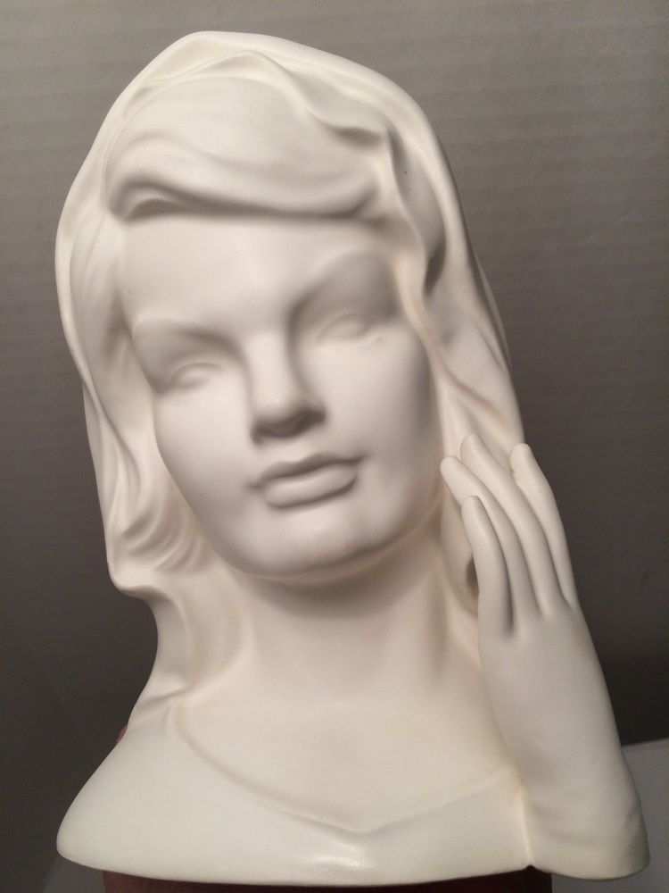 Jackie Kennedy Onassis Jacqueline Kennedy 1964 White Inarco Head
