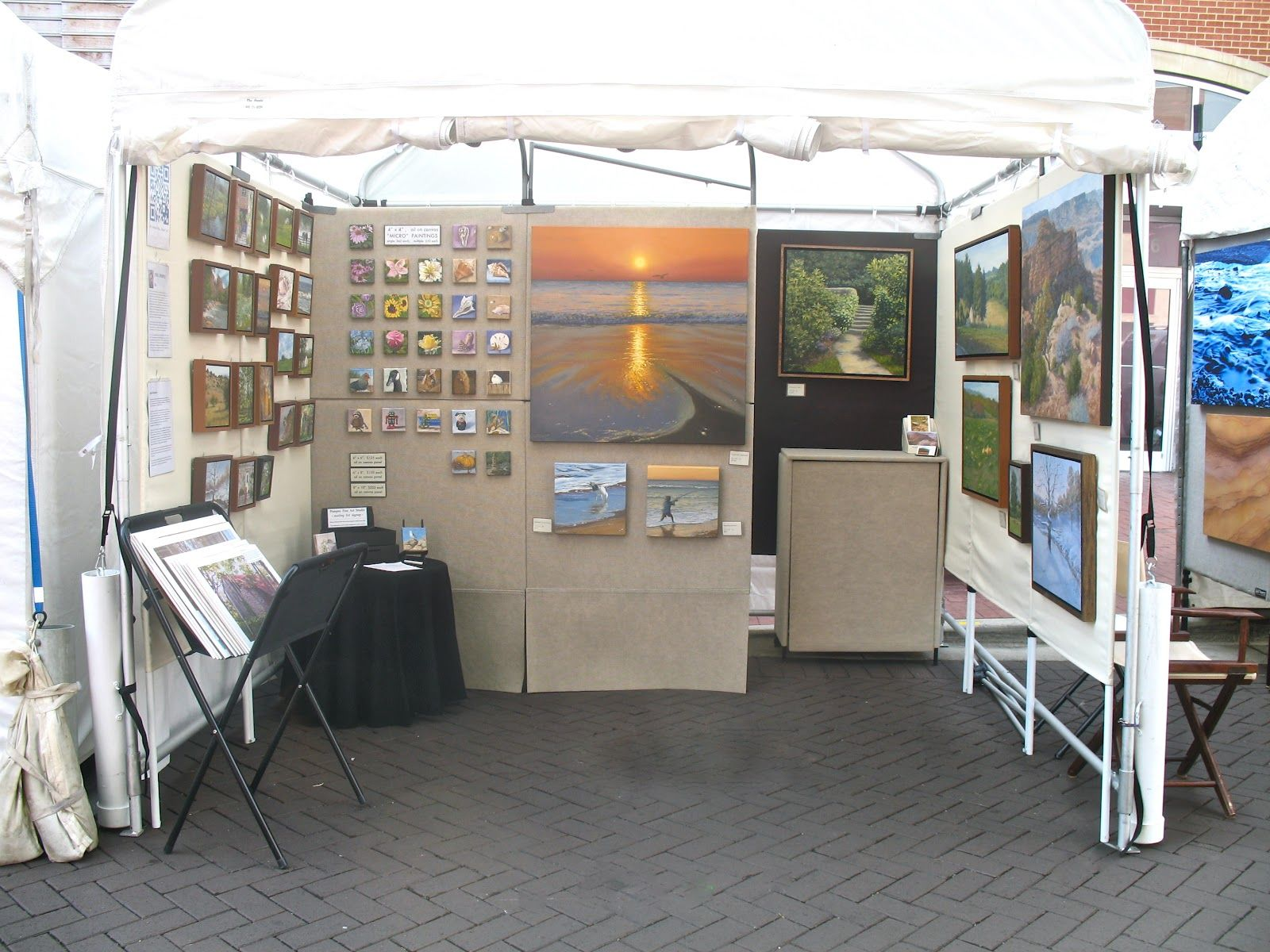 marvelous Art Festival Booth Display Ideas Part - 11: fine art festival booth display - Google Search