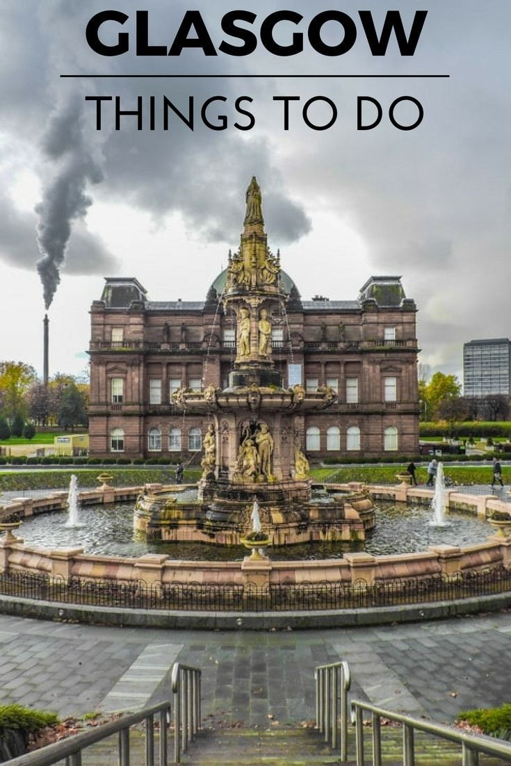 Image result for things to do in Glasgow