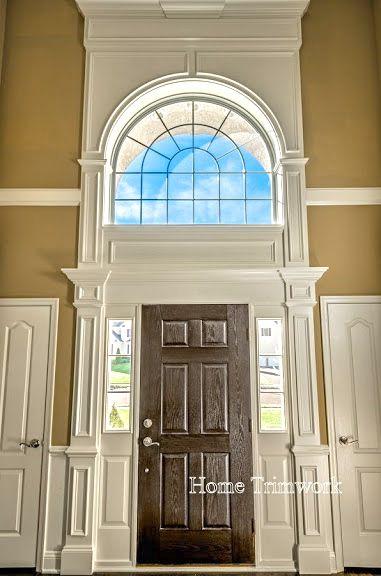 Front Door Molding Front Door Trims Moldings And Trim