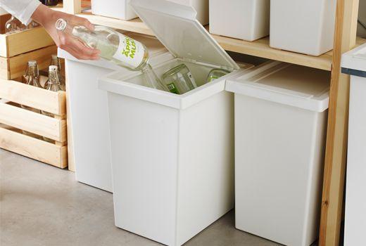 poubelles de tri poubelle idee