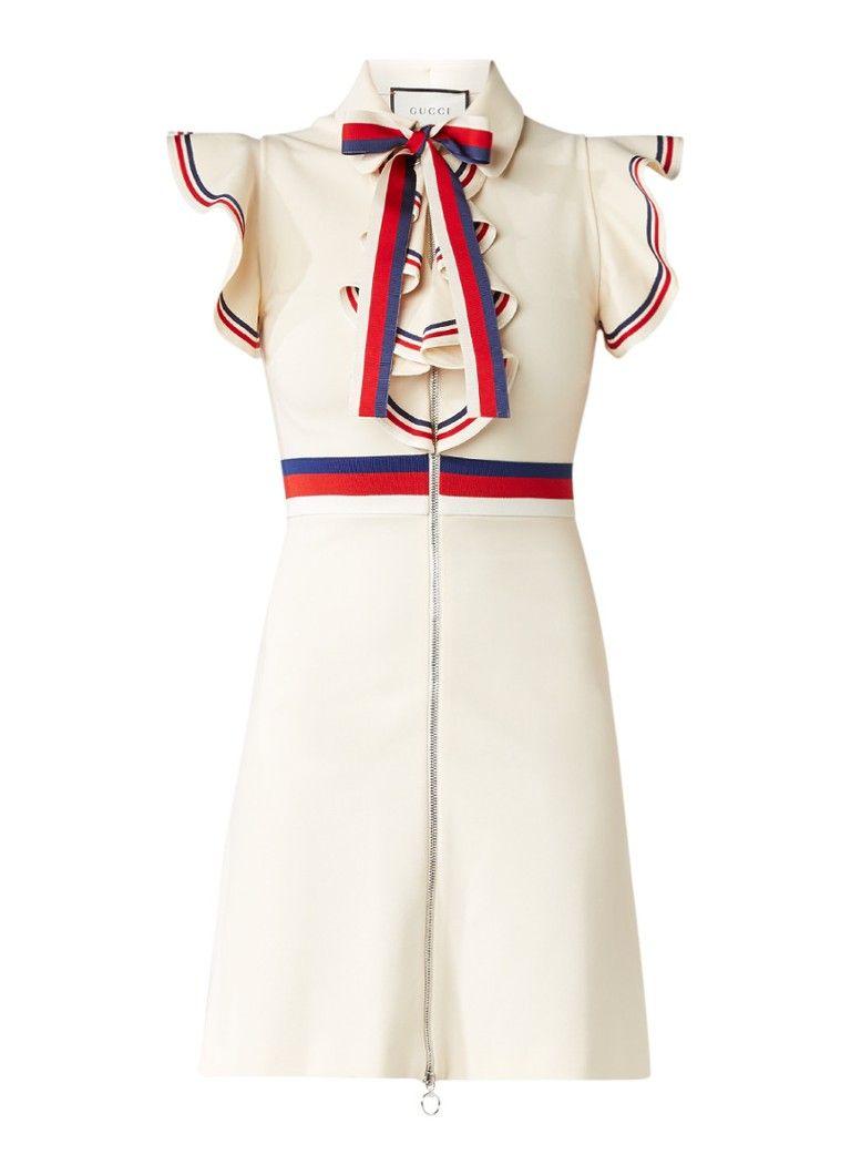 1df1712de6d Op zoek naar Gucci A-lijn jurk met ritssluiting en volant ? Ma t/m ...