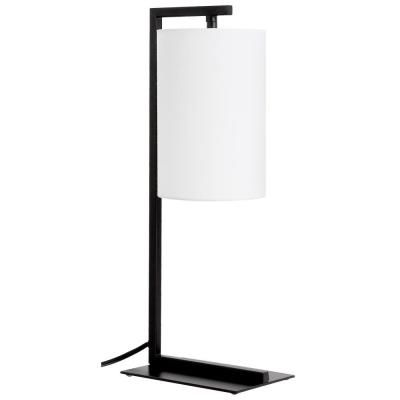 Ledpax Technology Kenton 17 75 In Black And White Table Lamp With