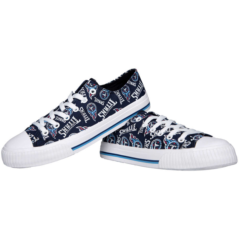 09fbf48f Tennessee Titans Women's Repeat Print Low Top Sneakers | Products ...