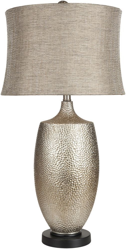 Hammered Silver Leaf Table Lamp Lighting Pinterest Table Lamp