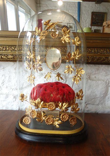 globe de mari e ancien avec son globe de verre pretty things pinterest mari e verre et ancien. Black Bedroom Furniture Sets. Home Design Ideas