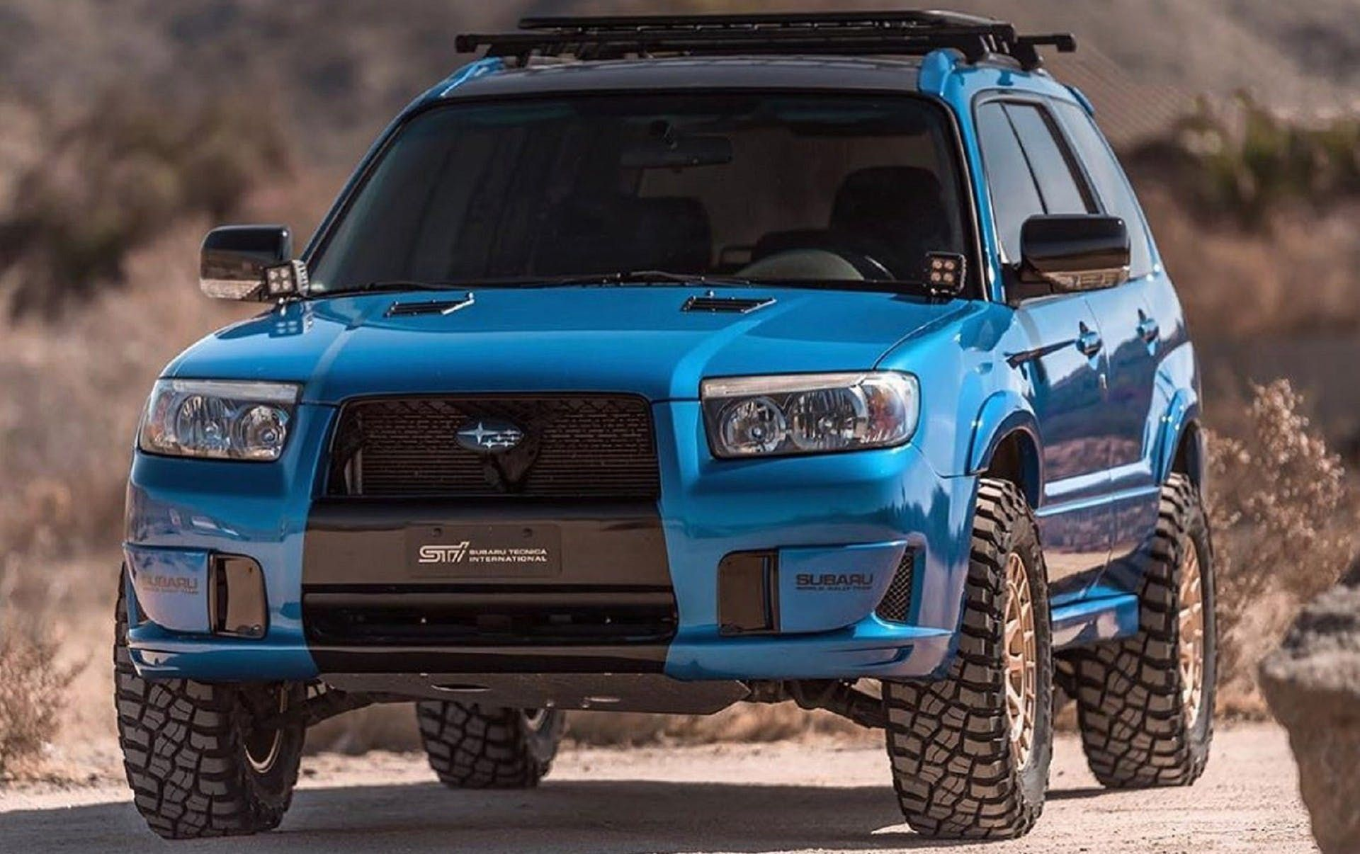 This Oregon Shop Builds Awesome Lifted Subarus For Off Road Junkies The Drive Subaru Forester Subaru Forester Xt Subaru