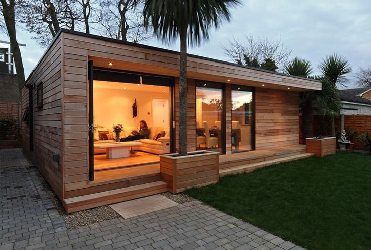 Prefab Backyard Guest House Janielinsmith Backyard Guest Houses Small House Design Architecture Small House Design