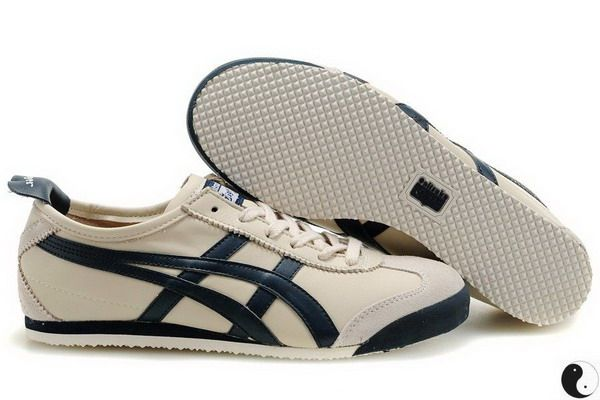 timeless design bfa8b 887b9 Onitsuka Tiger Mexico 66 CREAM DARK BLUE australia