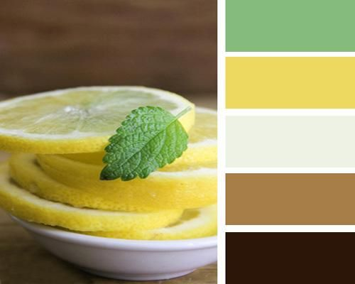 Attractive 22 Bright Interior Design U0026 Home Decorating Ideas With Lemon Yellow U0026 Mint  Green Flavors · Brown Color PalettesYellow ... Awesome Ideas