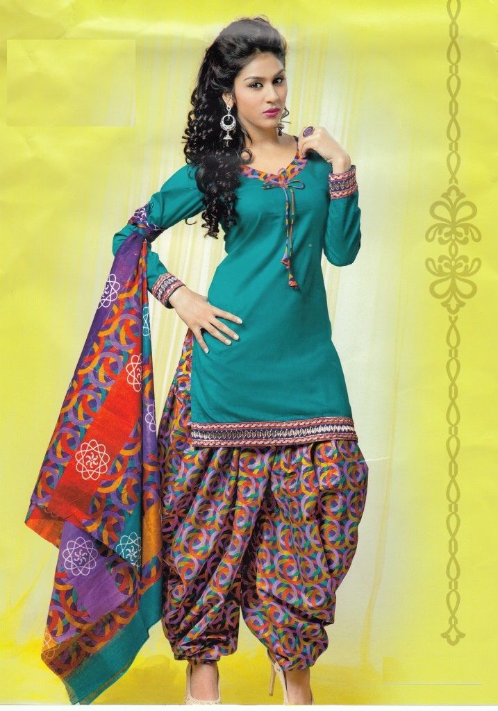 Patiyala dress image