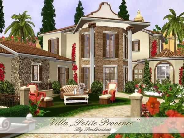 Villa Petite Provence cozy and lovely home by Pralinesims ...