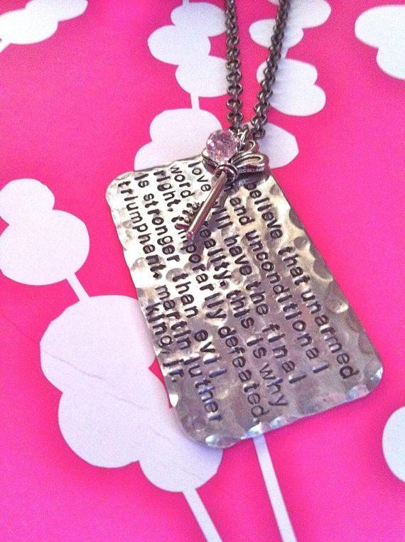 NEW Tell Me A StoryHand Stamped Custom by DarkChocolateNTulips, $52.00