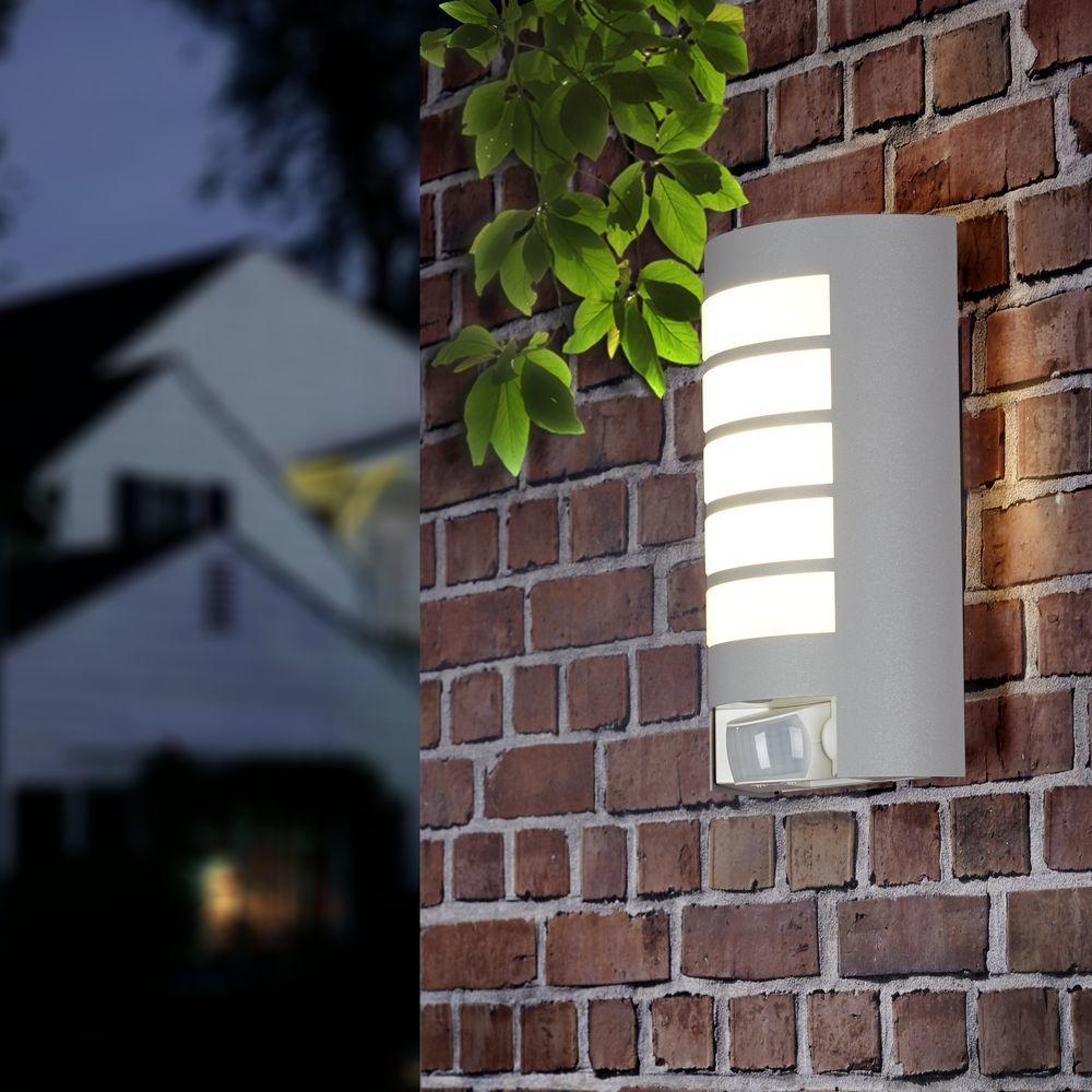 Steinel L 12 Design Sensor Aussenleuchte Silber Click Licht De Garten Gartenleuchte Stehleuchte B Aussenwandbeleuchtung Aussenwandleuchte Steinel Leuchten