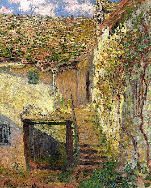 Claude Monet / L\u0027Escalier Claude Monet Pinterest Monet, Claude
