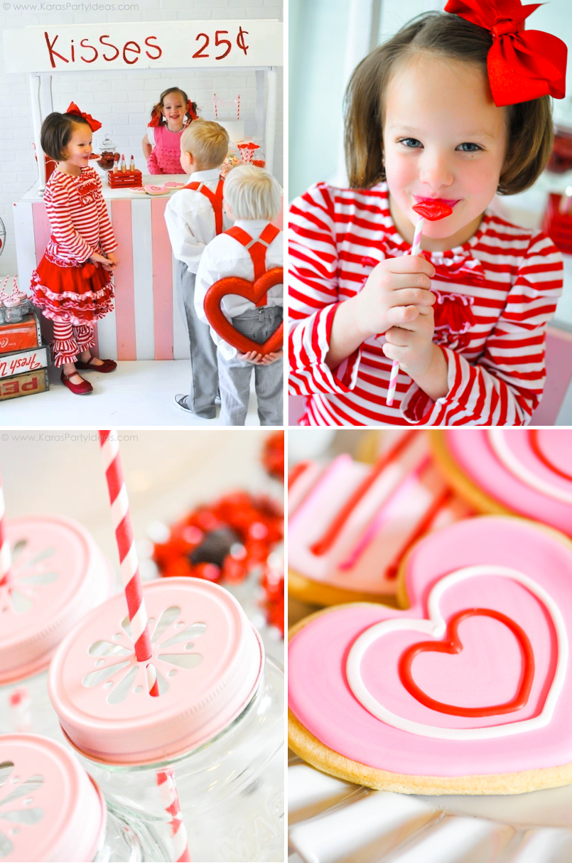 valentine's day party | kissing booth - would be adorable with mom, Ideas