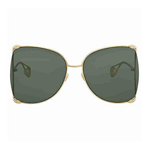 b91296ca9b Gucci Green Sunglasses GG0252S 005 63