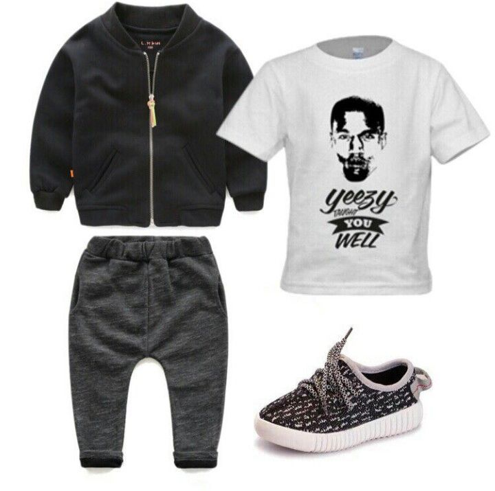competitive price f773a adbe7 Boys Yeezy inspired outfit! #Dope | Little Boys Outfits ...