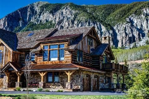 Crested butte co cabins and cottages pinterest cabin for Crested butte cabins