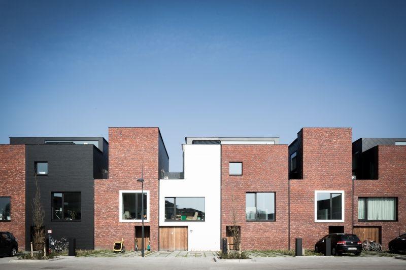 13 houses   gentbrugge - Projects - CAAN Architecten / Gent