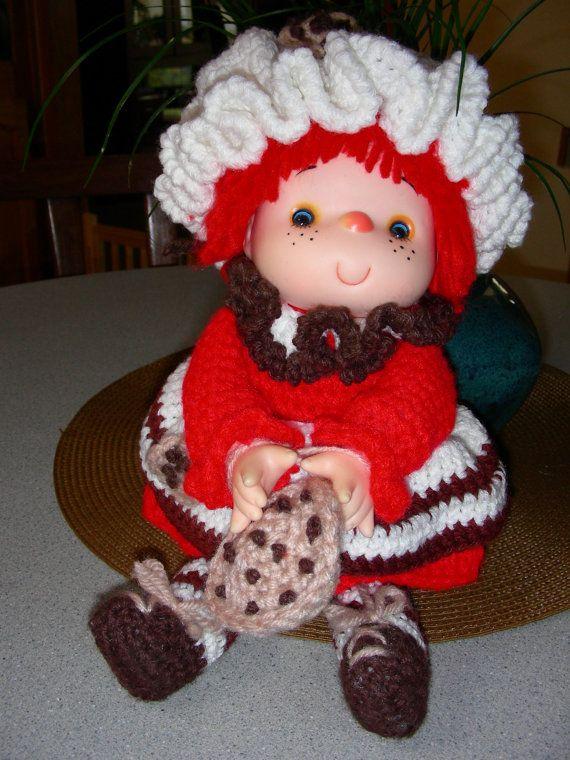 Vintage Strawberry Shortcake Crochet Doll by DownBlackberryLane ...
