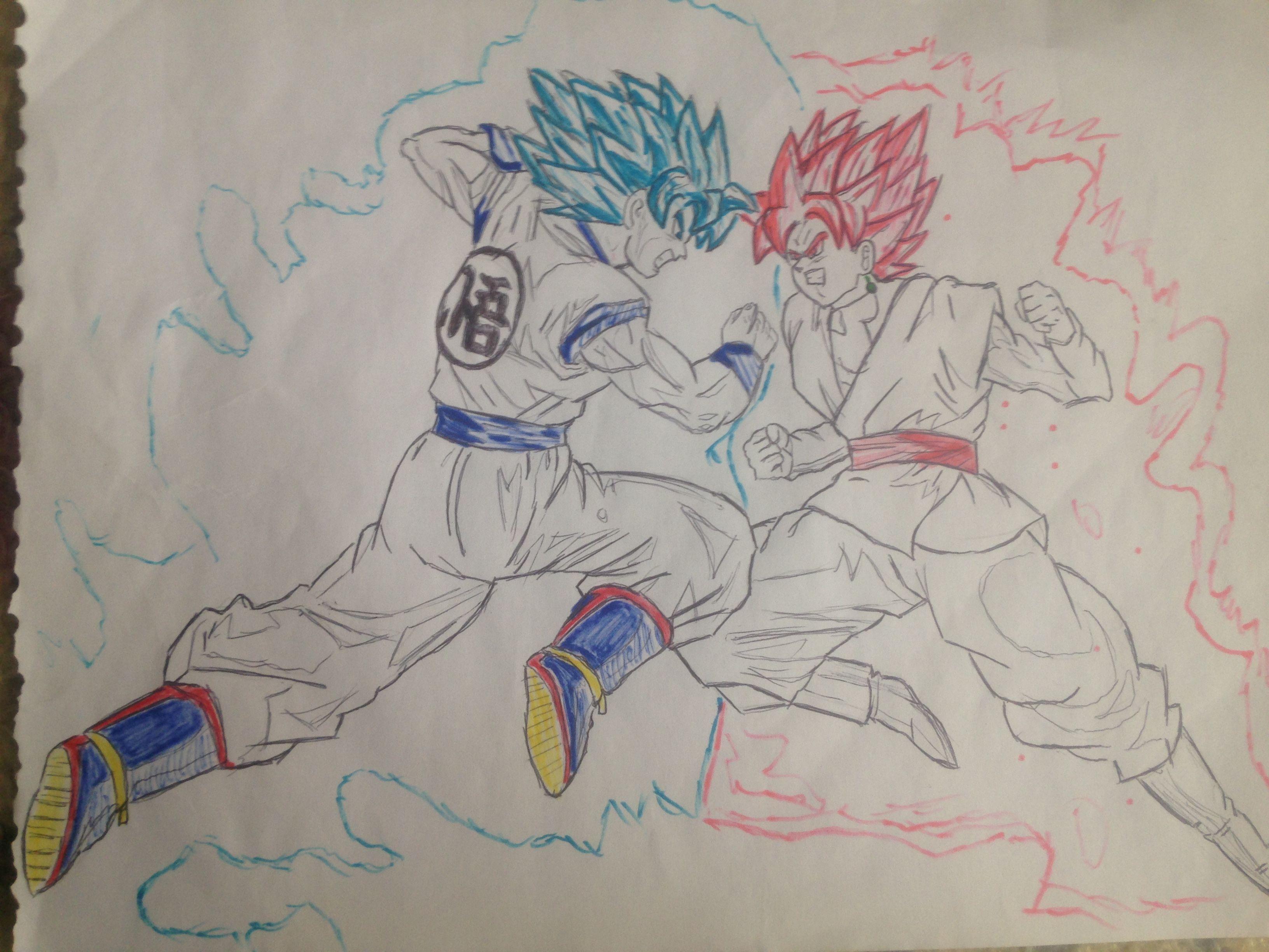 Großartig Ssgss Goku Malvorlagen Fotos - Entry Level Resume Vorlagen ...
