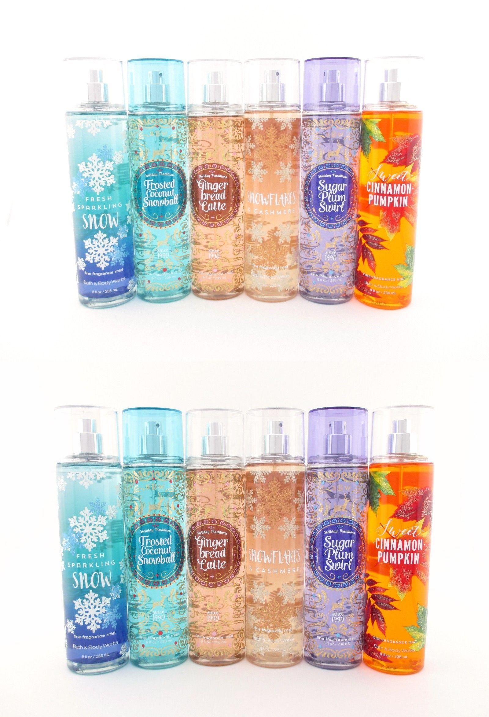 Bath Body Works Fine Fragrance Mist 8oz You Choose Fall And Holiday