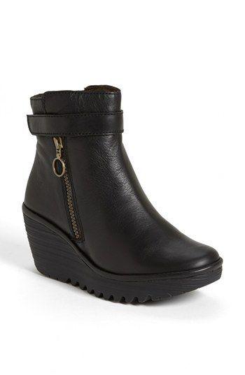 Zapatos negros Fly London Yeddo para mujer 9s5BNkCj