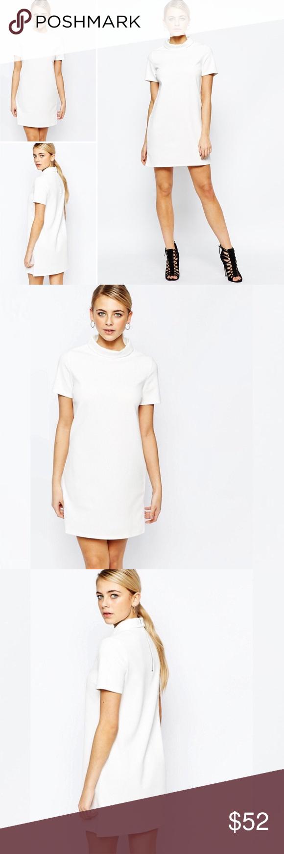 Like New Asos Textured Mock Turtleneck Dress Sz14 Fashion Turtle Neck Dress Fashion Union [ 1740 x 580 Pixel ]